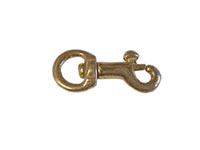 39B Round Swivel Baby Purse Snap Hooks