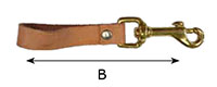 0170B/SR Square Swivel Bolt Snap Hooks with Strap - 2