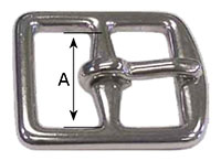 1180SS Center Bar Girth Buckles - 2