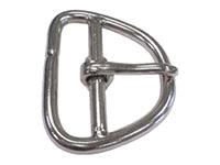 19090SS Double Bar Girth Buckles