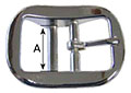 5705HZ Heavy Halter Buckles - 2