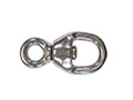 166/45 Round Eye Double End Swivels