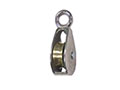 0174M Rigid Round Eye Single Wheel Pulleys