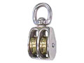 0178M Swivel Round Eye Double Wheel Pulleys