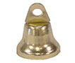 14 Millimeter (mm) Outside Diameter (B) Brass Polished Finish Liberty Bell