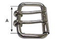 999ST-DT Double Tongue Roller Buckles - 2