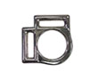 369HZ 2 Slot Square Heavy Halter Buckles